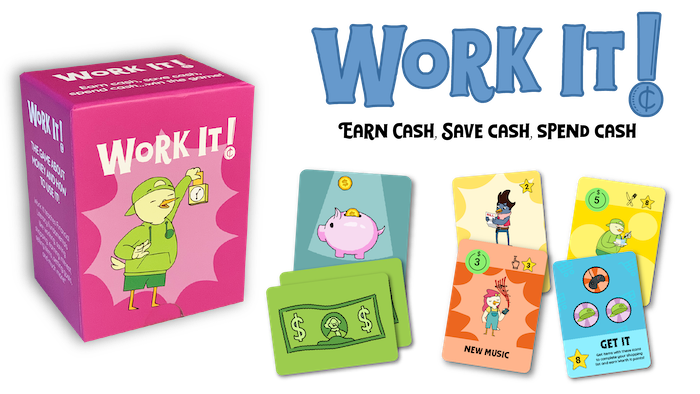 A card game that puts a fun spin on financial literacy