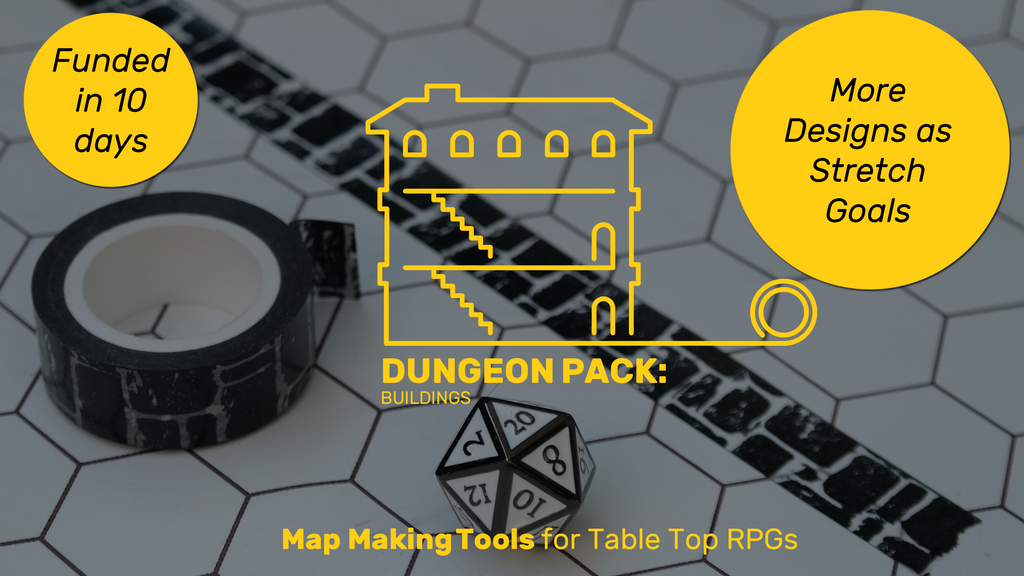 Dungeon Tape: Tools for creating better custom TTRPG maps. project video thumbnail
