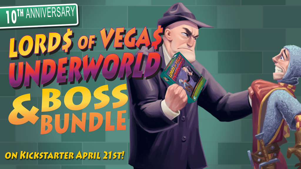 Lords of Vegas 10th Anniversary: Underworld and Boss Bundle project video thumbnail