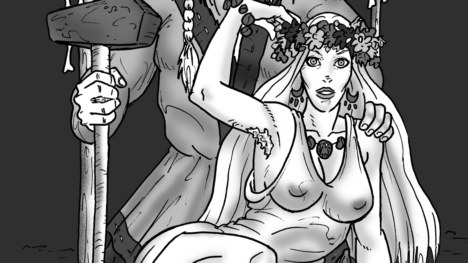 A Pagan Horror Comic in the Viking Age for mature readers