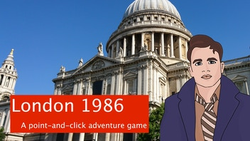 London 1986 - A detective point-and-click adventure game