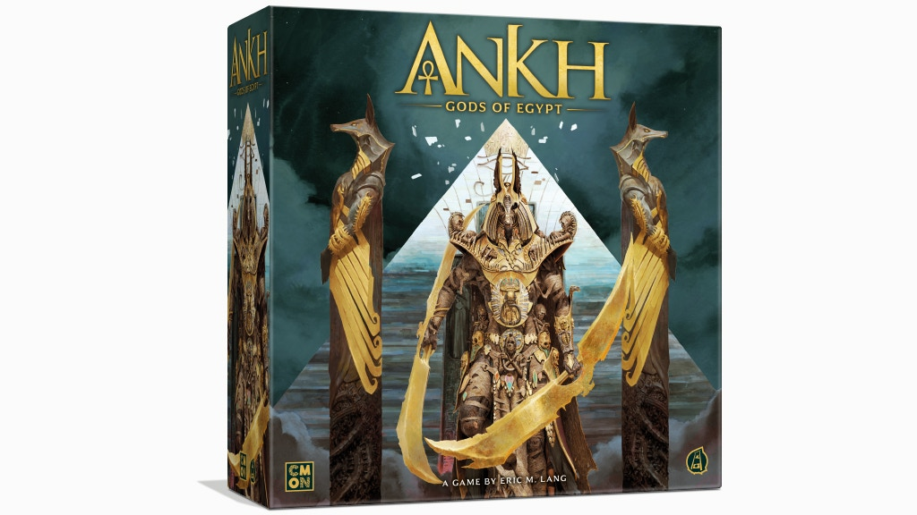 Ankh: Gods of Egypt by CMON — Kickstarter