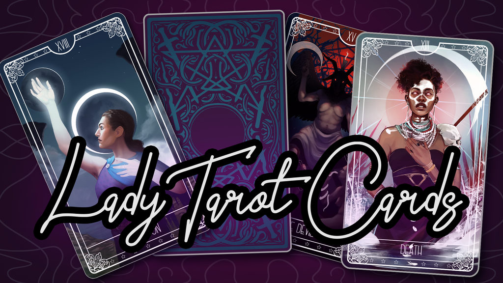 Project image for Lady Tarot Cards: LGBT+ and POC Inclusive Tarot Deck