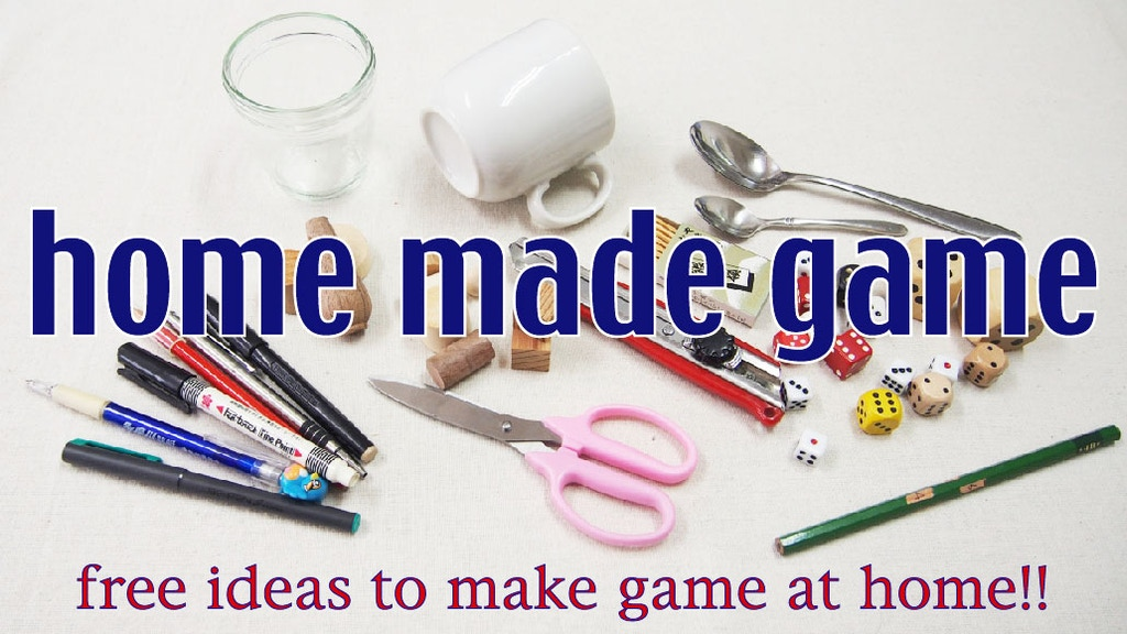 home made game project video thumbnail