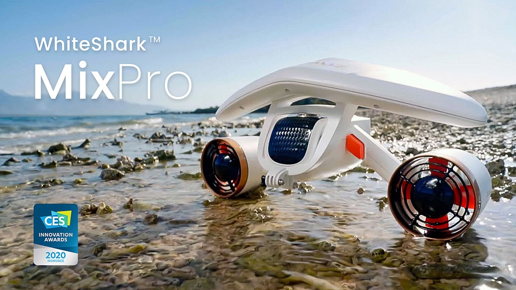 WhiteShark MixPro | The Ultimate Underwater Scooter project video thumbnail