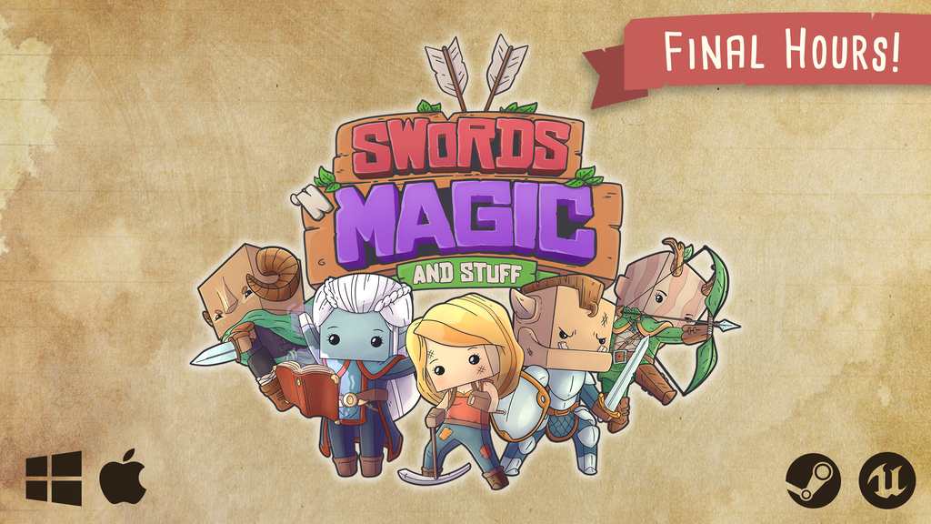 Swords 'n Magic and Stuff - Cooperative Open World RPG project video thumbnail