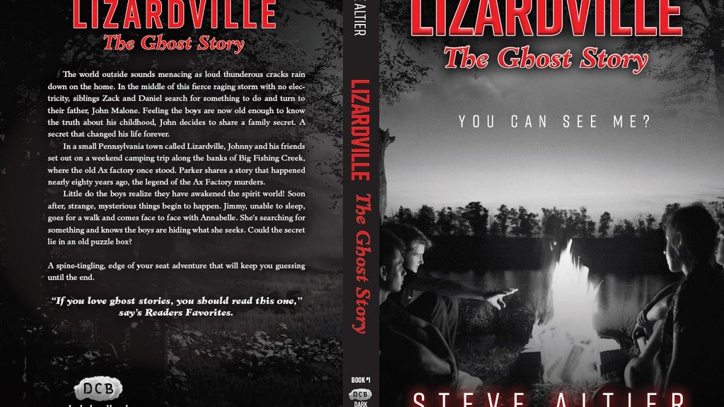 Project image for Lizardville The Ghost Story needs a new look.