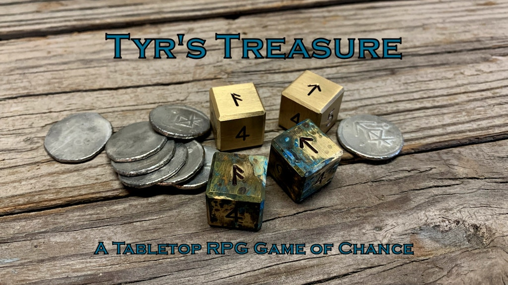 Tyr's Treasure: A Tabletop RPG Dice Game of Chance™ project video thumbnail