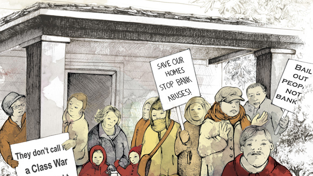 We Live Here! A Graphic Novel about Detroit Housing Justice project video thumbnail