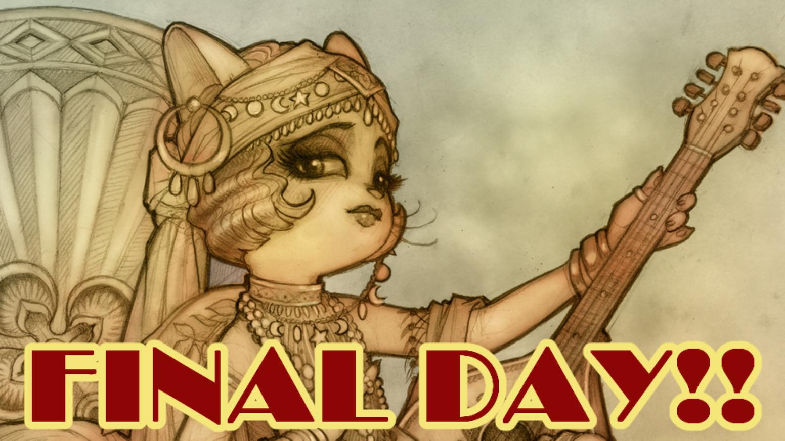 An incredible art book FULL of Lackadaisy Cats minicomics and extras, with an eye on funding a Lackadaisy animated short!