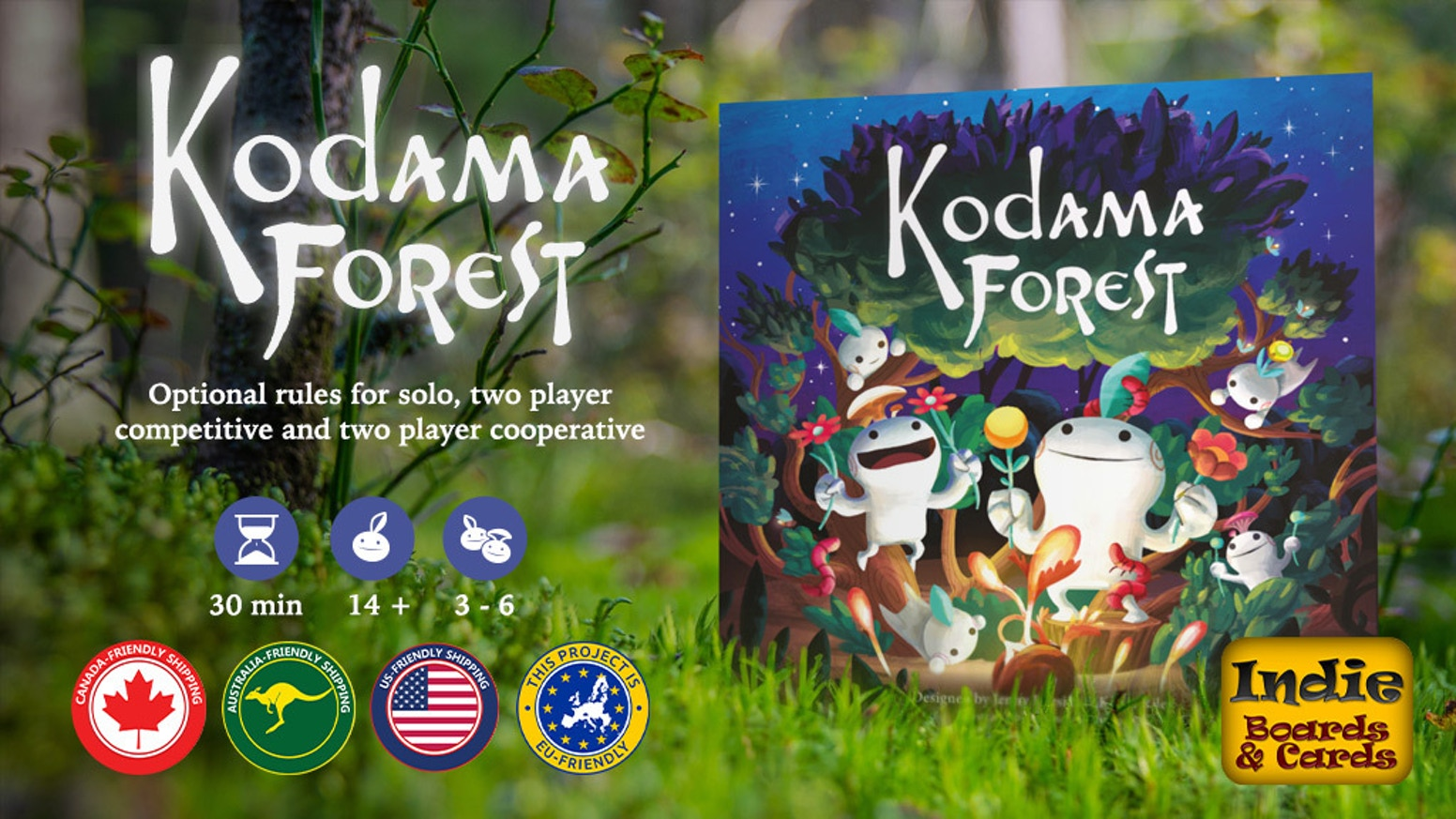 The next game in the Kodamaverse with all-new gameplay! Work together to grow the forest for your Kodama & their forest friends!