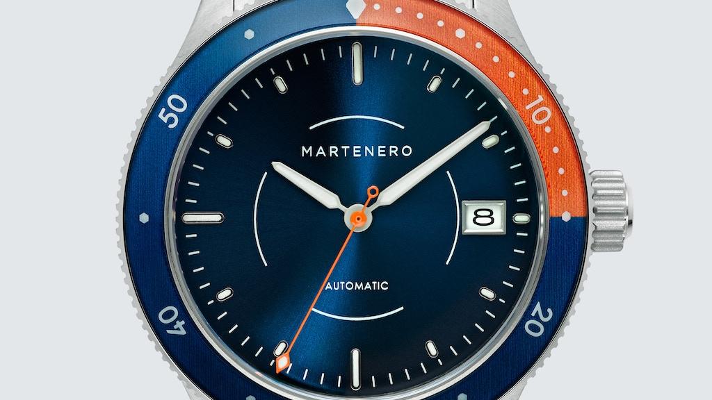 Martenero Bayshore - A Modern Mechanical Dive Watch project video thumbnail