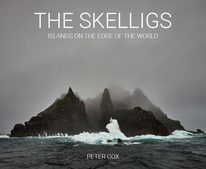 A book of photographs of Ireland's Skellig Islands. A World Heritage Site, made world famous by the recent Star Wars movies.