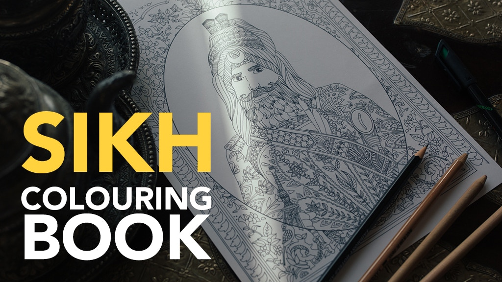 The 1st Sikh Adult Colouring Book project video thumbnail