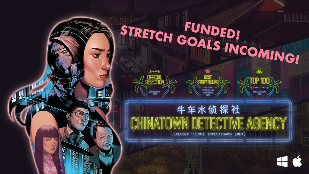 Chinatown Detective Agency: Globetrotting Mystery Adventure project video thumbnail