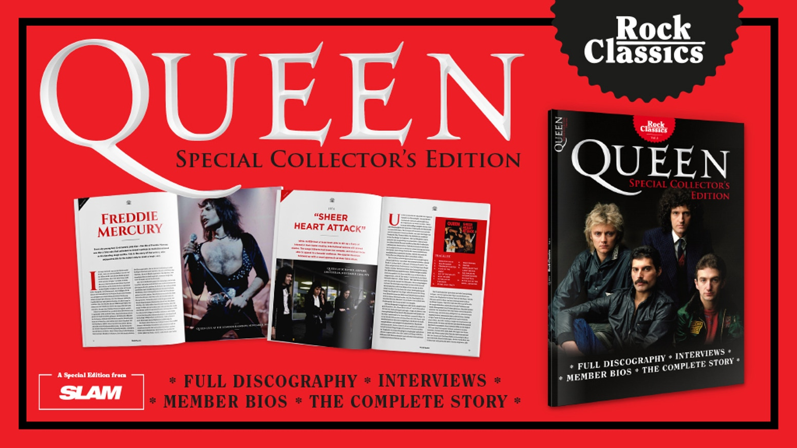 """A funding success! Thanks to all our backers!! """"Rock Classics"""" magazine """"QUEEN"""" - a special commemoration issue, now in English - we continue on INDIEGOGO InDemand - please spread the news!https://igg.me/at/rcqueen/x/6988960#/"""