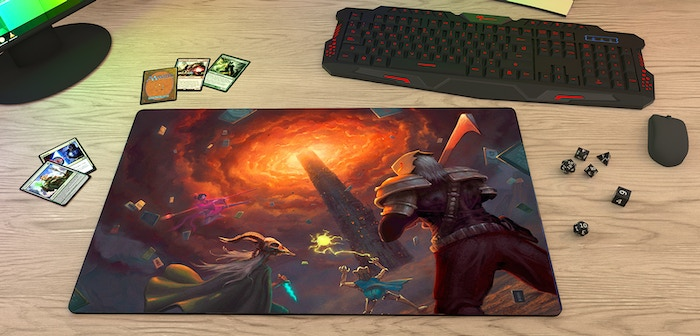 Special edition gaming mat, featuring my iconic title art for Slay the Spire, now updated with a fan-favorite character!