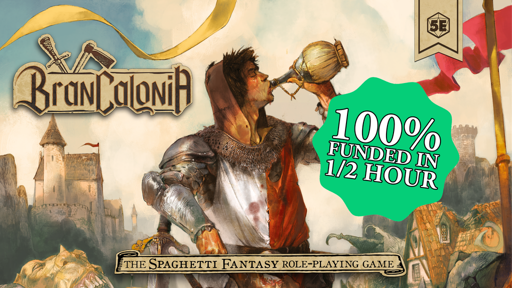BRANCALONIA - THE SPAGHETTI FANTASY RPG project video thumbnail