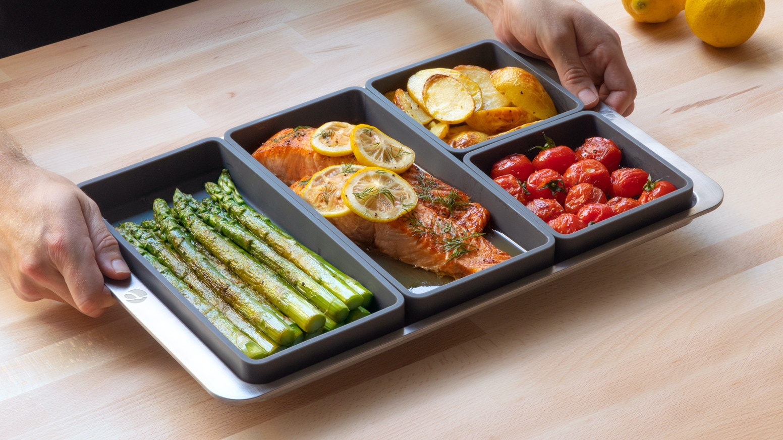 Meal prepping and one-pan dinners have never been this easy.