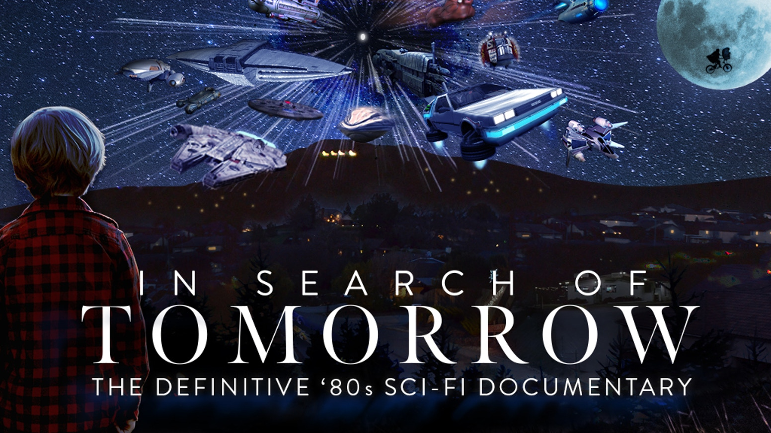 A four-hour-plus retrospective of '80s Sci-Fi movies featuring interviews with actors, directors, writers, SFX experts, and composers. Missed out? You can still join the campaign on CrowdOx using this link: