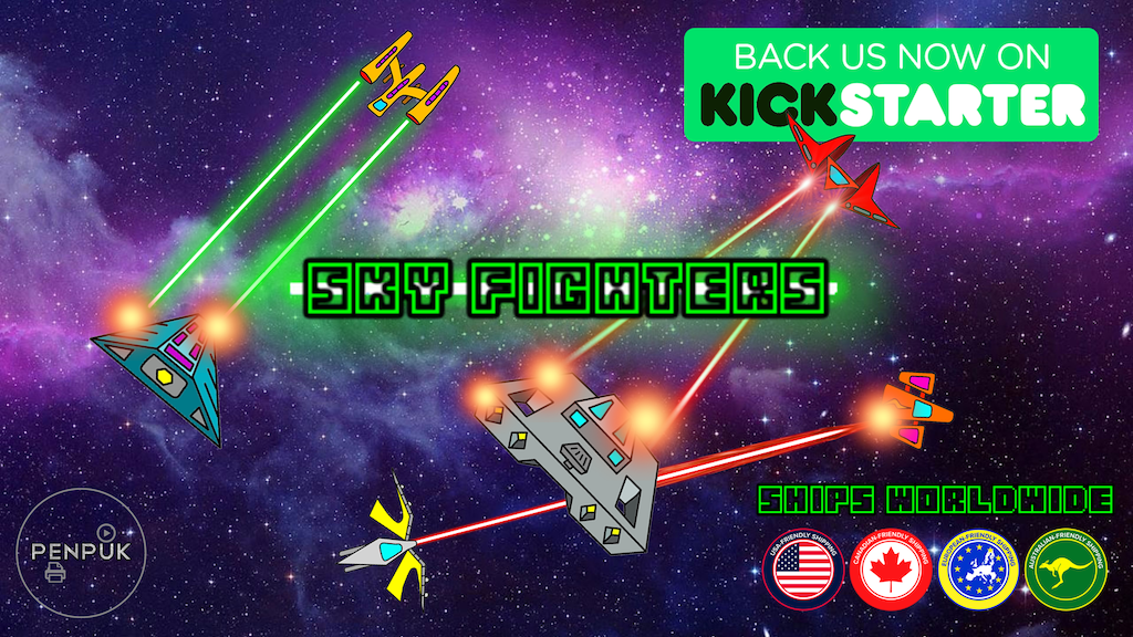 SKY FIGHTERS project video thumbnail