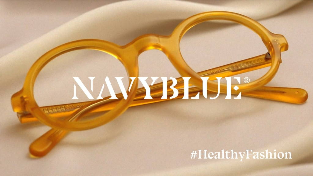 NAVYBLUE | 2 glasses in 1: Screen & Sun protection project video thumbnail