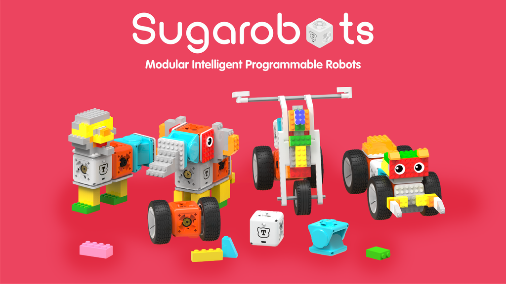 Sugarobots:Modular Robots, Coding, Engage, Entertain&Educate project video thumbnail