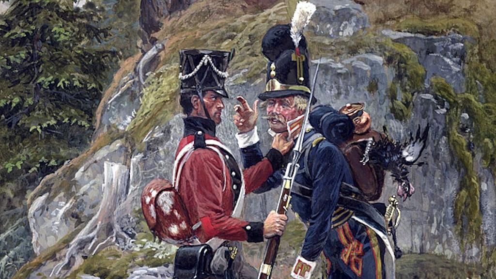 Napoleonic era fighting in Scandinavia