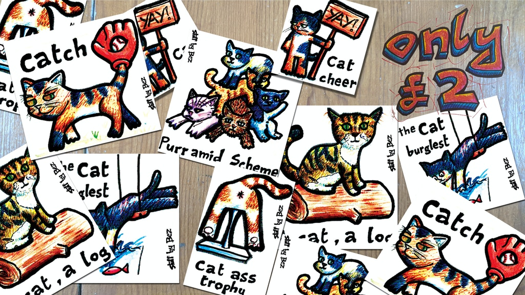 Cat stickers to a-mews you project video thumbnail