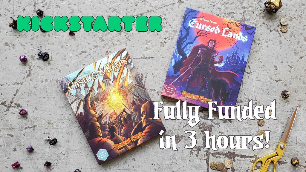 New Dungeon Craft Series! Two New Terrain books for D&D project video thumbnail