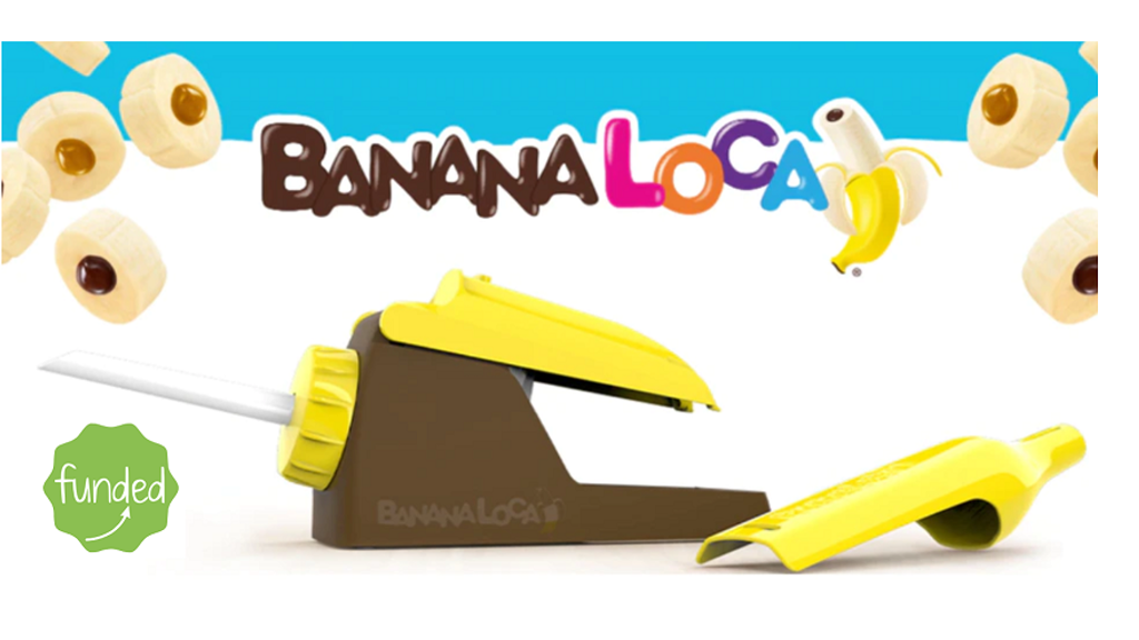 "Banana Loca®: a very ""ap-peeling"" innovative kitchen gadget! project video thumbnail"