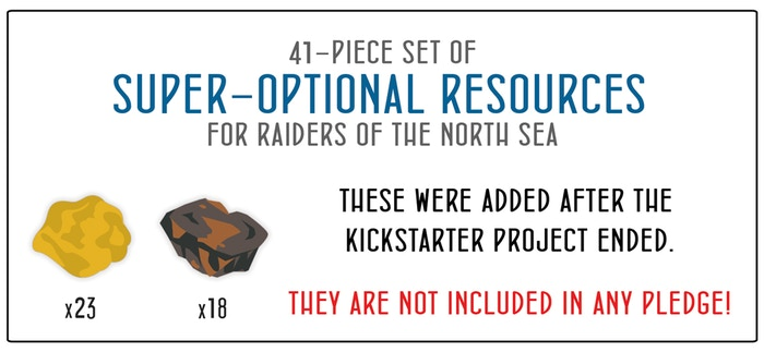 41-piece Gold & Iron for Raiders of the North Sea & Expansions