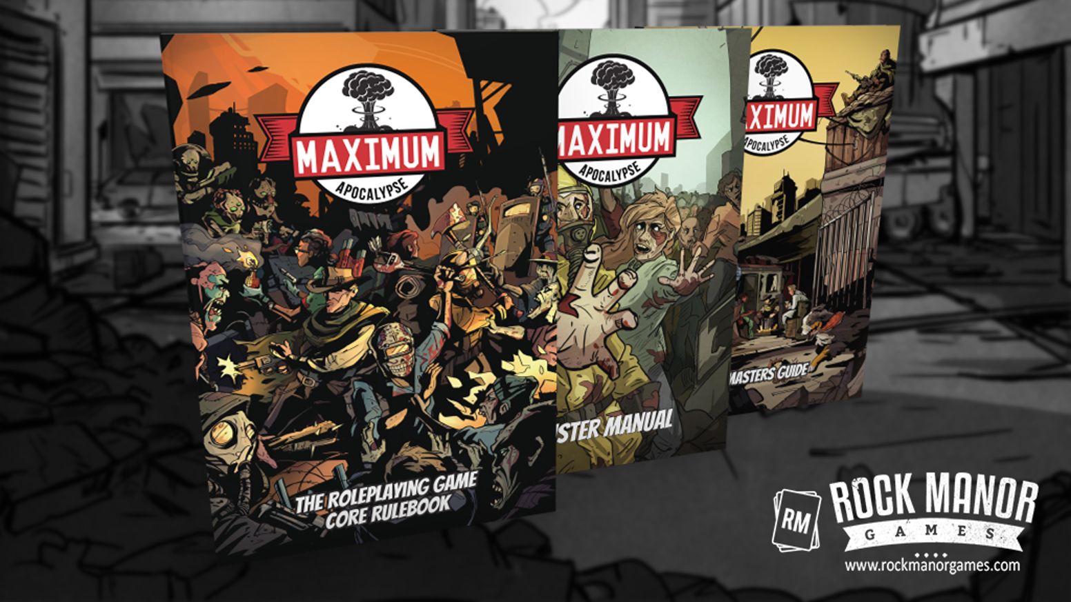 An immersive Tabletop Role Playing experience based on the post-apocalyptic board game series, Maximum Apocalypse