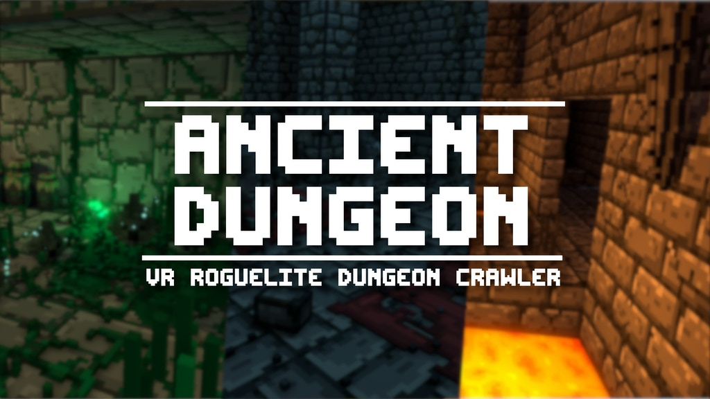 Ancient Dungeon VR project video thumbnail