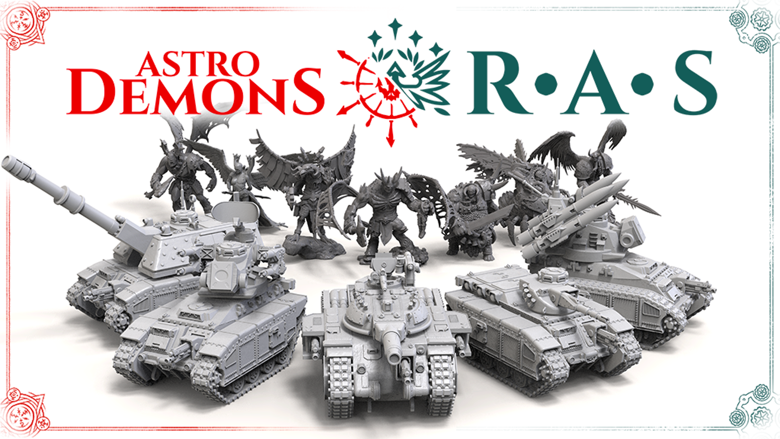 High-quality resin miniatures for fans of wargaming, collectors and painters.