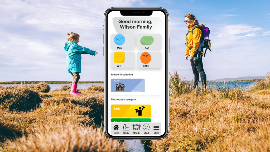 The Family Wellbeing App project video thumbnail