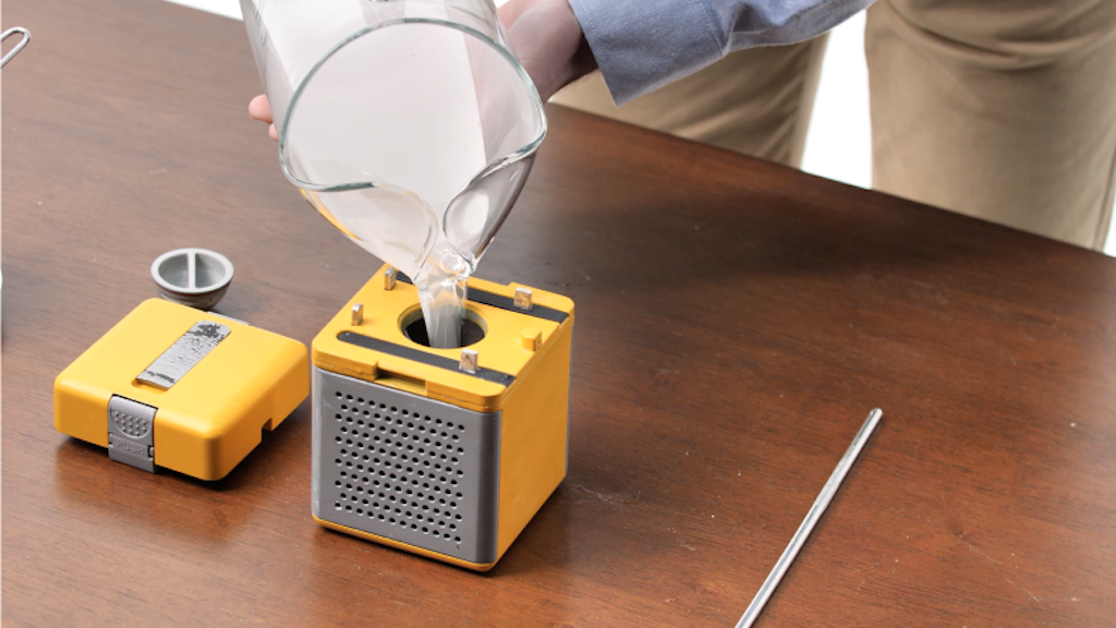 A water-fueled power generator that instantly rescues you in an emergency