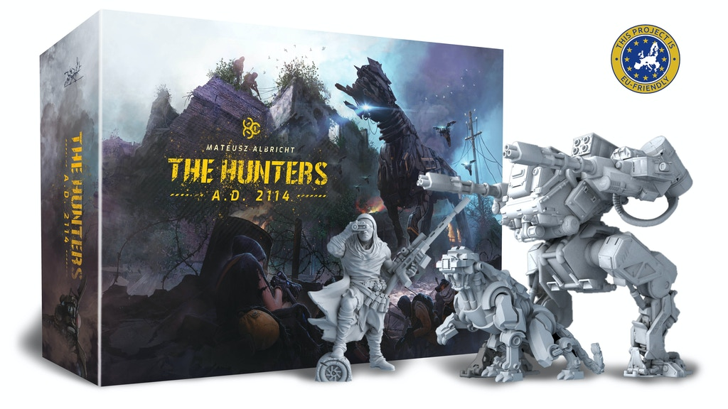 The Hunters A. D. 2114 (2nd printing and expansions) project video thumbnail