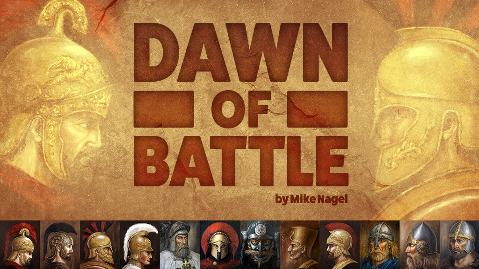 A 2 player game depicting battles from Ancient Egypt to early gunpowder.  Games can be played in under 2 hours. Designed by Mike Nagel.