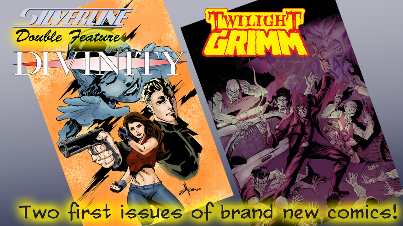 Two brand new titles from Silverline Comics