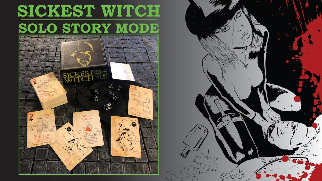 Sickest Witch Solo Story Mode and Print+Play project video thumbnail