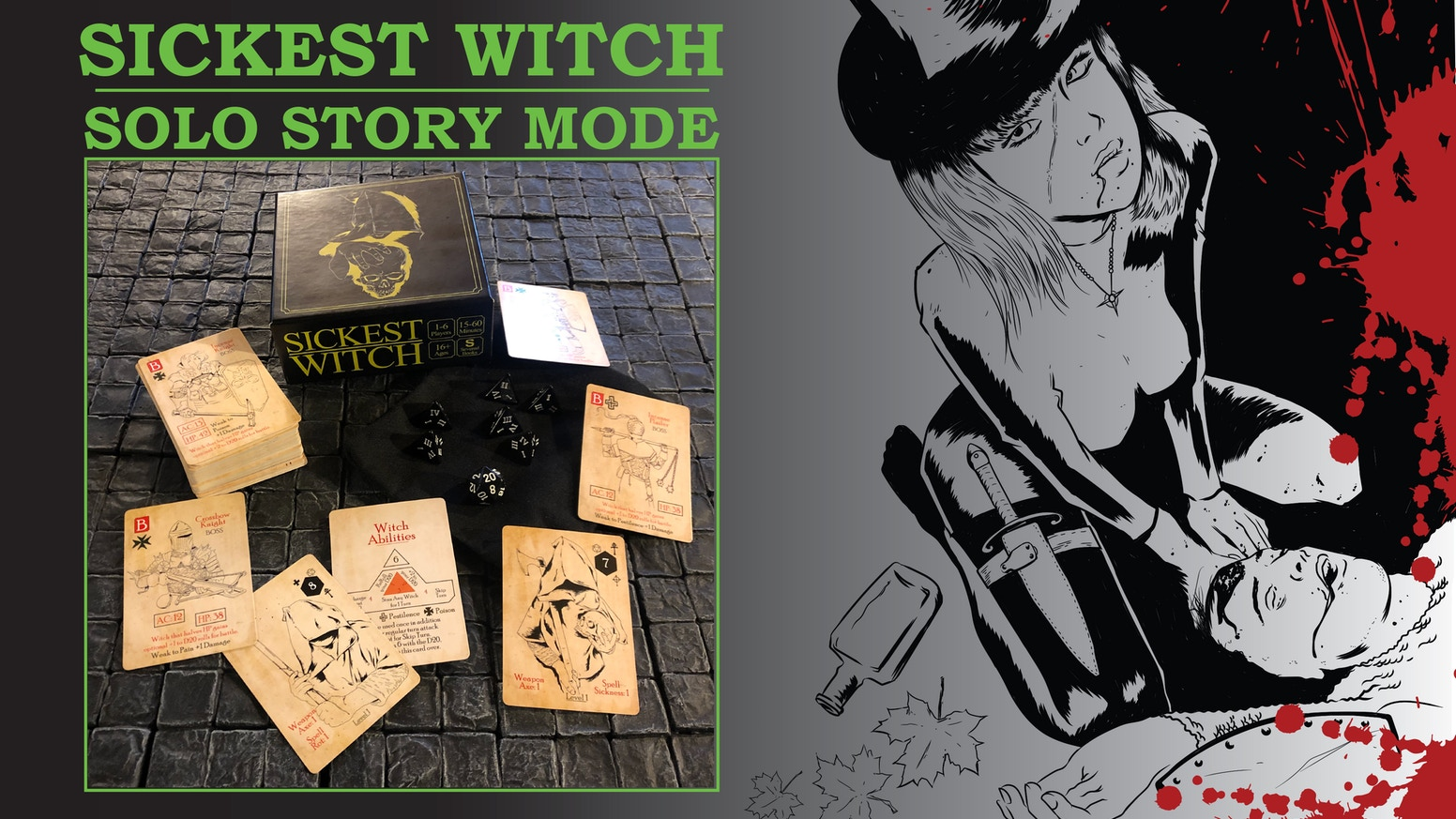 Sickest Witch Solo Story Mode and Print+Play