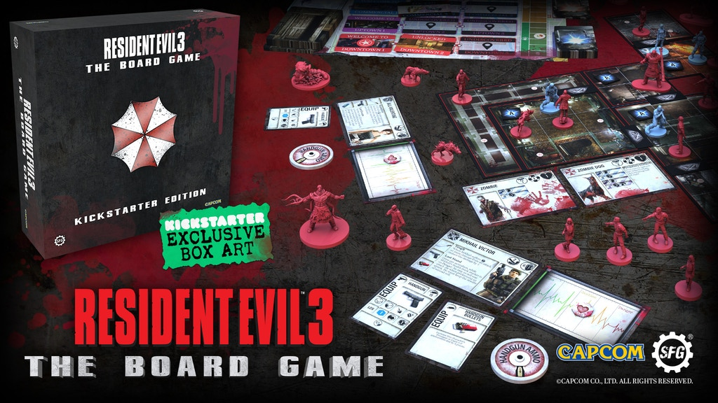 Resident Evil™ 3: The Board Game project video thumbnail