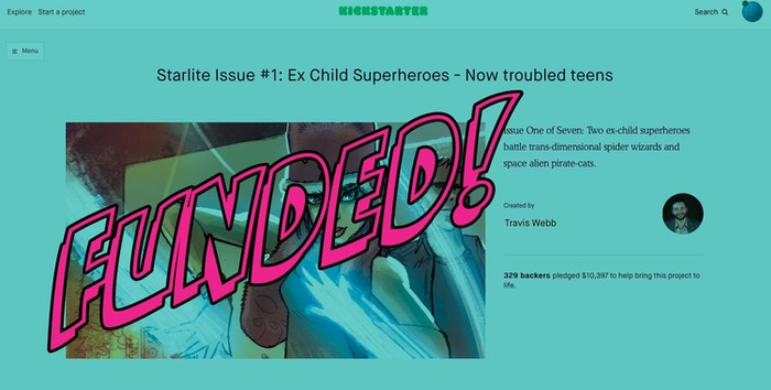Issue One of Seven:  Two ex-child superheroes battle trans-dimensional spider wizards and space alien pirate-cats.