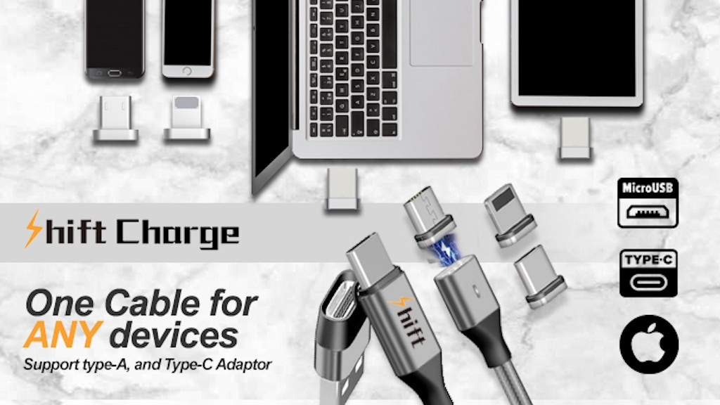 ShiftCable | One Cable for all your Devices