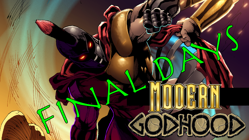 Modern Godhood #1: A Fantasy Action One-Shot Comic project video thumbnail
