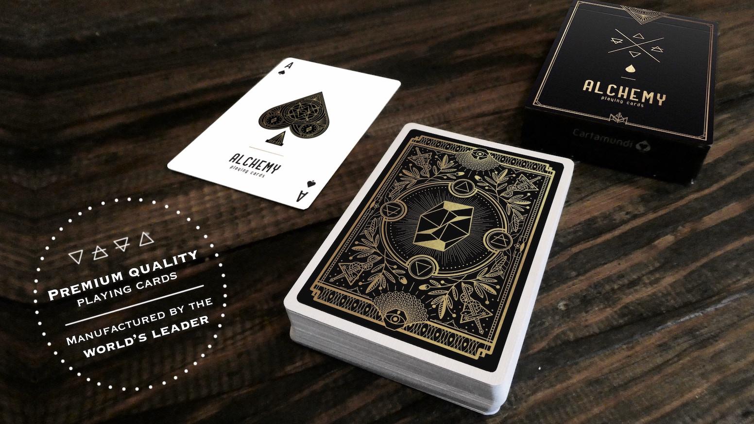 Alchemy Playing Cards By Densha Kickstarter