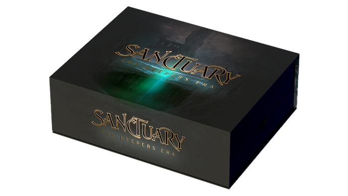 Pick your faction, throw yourself into the game and annihilate your enemy Sanctuaries in this fast-paced card game for 1-4* players.