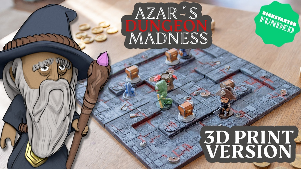Azar´s Dungeon Madness Project-Video-Thumbnail