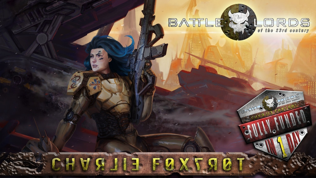 Charlie Foxtrot: A Battlelords Sourcebook project video thumbnail